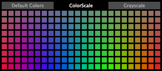 ColorScale picker